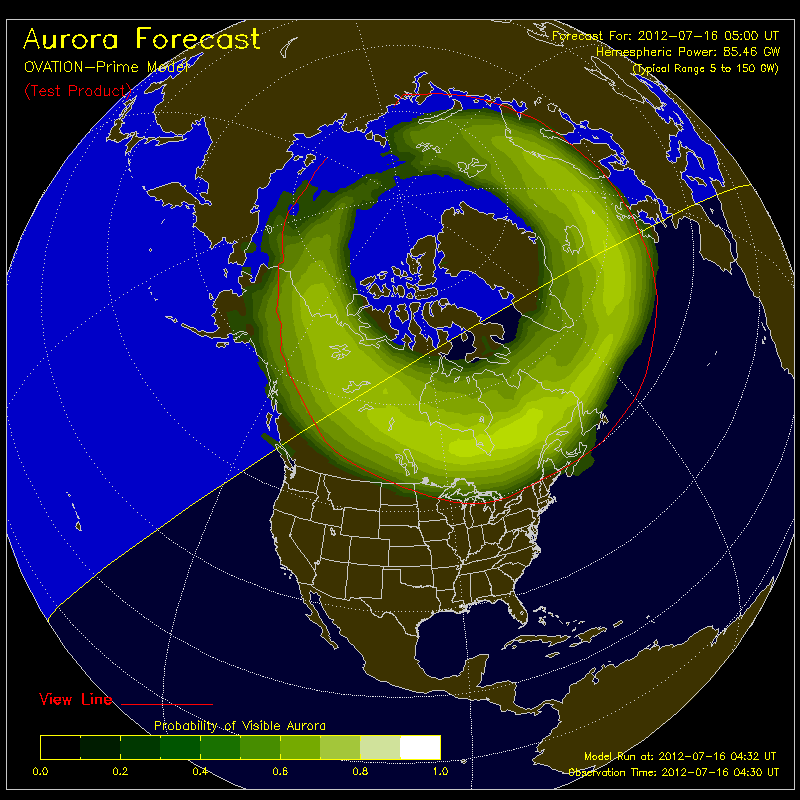 ovation Aurora Borealis NotificationsAurora Borealis Notifications